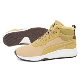 Buty Puma St Activate Mid Wtr M 369784 02 beżowy brązowe żółte 1