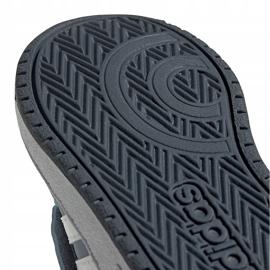 Buty dla dzieci adidas Hoops Mid 2.0 niebieskie FW4922 5