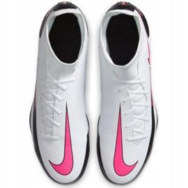 Buty piłkarskie Nike Phantom Gt Club Df FG/MG CW6672 160 białe białe 2