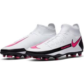 Buty piłkarskie Nike Phantom Gt Club Df FG/MG CW6672 160 białe białe 3