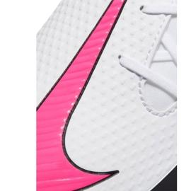 Buty piłkarskie Nike Phantom Gt Club Df FG/MG CW6672 160 białe białe 6