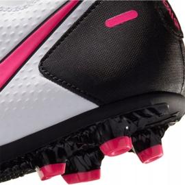 Buty piłkarskie Nike Phantom Gt Club Df FG/MG CW6672 160 białe białe 7