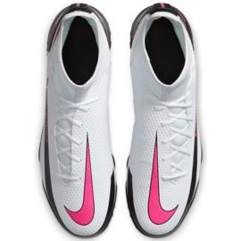 Buty piłkarskie Nike Phantom Gt Club Df Tf CW6670 160 białe wielokolorowe 2