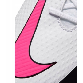 Buty piłkarskie Nike Phantom Gt Club Df Tf CW6670 160 białe wielokolorowe 6