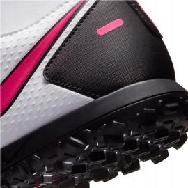 Buty piłkarskie Nike Phantom Gt Club Df Tf CW6670 160 białe wielokolorowe 7
