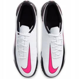 Buty piłkarskie Nike Phantom Gt Club Tf M CK8469 160 białe wielokolorowe 2
