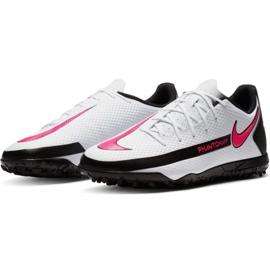 Buty piłkarskie Nike Phantom Gt Club Tf M CK8469 160 białe wielokolorowe 3