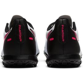 Buty piłkarskie Nike Phantom Gt Club Tf M CK8469 160 białe wielokolorowe 4