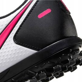 Buty piłkarskie Nike Phantom Gt Club Tf M CK8469 160 białe wielokolorowe 7