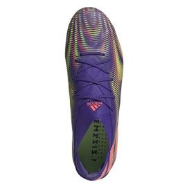 Buty piłkarskie adidas Nemeziz .1 M Fg EH0760 fioletowe fioletowe 2