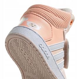 Buty adidas Hoops Mid Jr FW4924 różowe 3