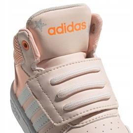 Buty adidas Hoops Mid Jr FW4924 różowe 4