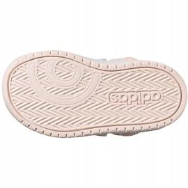 Buty adidas Hoops Mid Jr FW4924 różowe 5