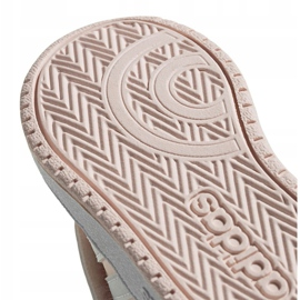 Buty adidas Hoops Mid Jr FW4924 różowe 6
