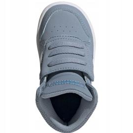 Buty adidas Hoops Mid 2.0 Jr FW4922 niebieskie 2