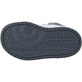 Buty adidas Hoops Mid 2.0 Jr FW4922 niebieskie 4