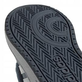 Buty adidas Hoops Mid 2.0 Jr FW4922 niebieskie 5