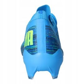 Buty piłkarskie Puma Ultra 1.2 Fg / Ag M 106299-01 niebieskie niebieskie 4