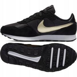 Buty Nike Md Valiant Jr CN8558 009 czarne granatowe 2