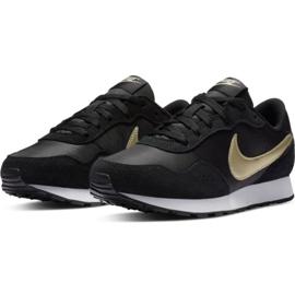 Buty Nike Md Valiant Jr CN8558 009 czarne granatowe 3
