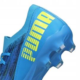 Buty piłkarskie Puma Ultra 3.2 Fg / Ag M 106300-01 niebieskie niebieskie 4