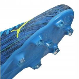 Buty piłkarskie Puma Ultra 3.2 Fg / Ag M 106300-01 niebieskie niebieskie 5