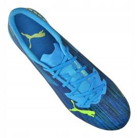 Buty piłkarskie Puma Ultra 2.2 Fg / Ag M 106343-01 niebieskie wielokolorowe 3