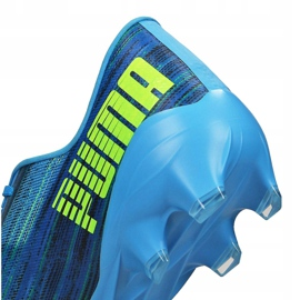 Buty piłkarskie Puma Ultra 2.2 Fg / Ag M 106343-01 niebieskie wielokolorowe 4