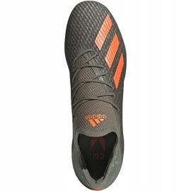 Buty piłkarskie adidas X 19.2 Fg zielone EF8364 1
