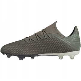 Buty piłkarskie adidas X 19.2 Fg zielone EF8364 2
