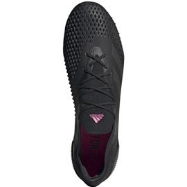 Buty piłkarskie adidas Predator Mutator 20.1 L Fg EH2884 czarne czarne 1