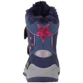 Buty dla dzieci Kappa Cui Tex granatowo-różowe 260823K 6722 granatowe 3