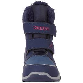 Buty dla dzieci Kappa Cui Tex granatowo-różowe 260823K 6722 granatowe 2