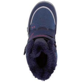 Buty dla dzieci Kappa Cui Tex granatowo-różowe 260823K 6722 granatowe 1