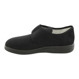 Befado obuwie męskie  pu  036M007 czarne 2