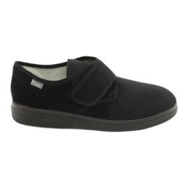 Befado obuwie męskie  pu  036M007 czarne 1