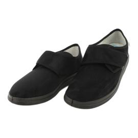 Befado obuwie męskie  pu  036M007 czarne 3