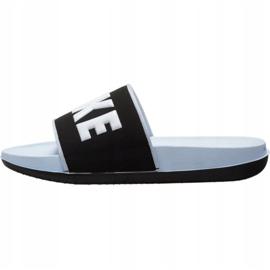 Klapki Nike Offcourt W BQ4632 007 białe czarne 1