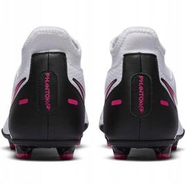 Buty piłkarskie Nike Phantom Gt Club Df FG/MG CW6672 160 białe 4