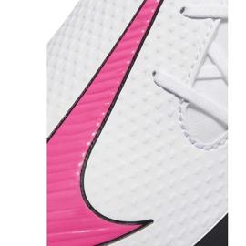 Buty piłkarskie Nike Phantom Gt Club Df FG/MG CW6672 160 białe 5
