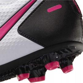 Buty piłkarskie Nike Phantom Gt Club Df FG/MG CW6672 160 białe 6
