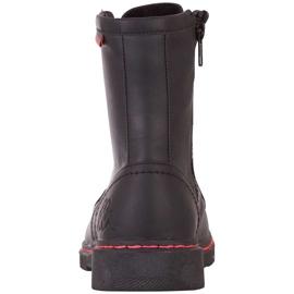 Buty damskie Kappa Deenish czarno-różowe 242885 1122 czarne 4