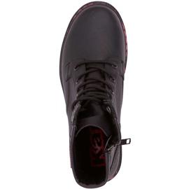 Buty damskie Kappa Deenish czarno-różowe 242885 1122 czarne 1