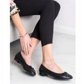 Goodin Eleganckie Baleriny czarne 1