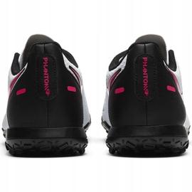 Buty piłkarskie Nike Phantom Gt Club Tf CK8469 160 białe 4