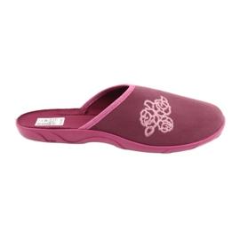 Befado kolorowe obuwie damskie pu 235D158 wielokolorowe różowe 1