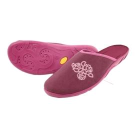 Befado kolorowe obuwie damskie pu 235D158 wielokolorowe różowe 4