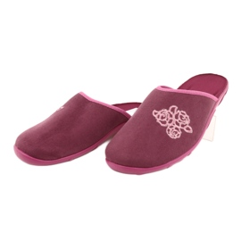 Befado kolorowe obuwie damskie pu 235D158 wielokolorowe różowe 3