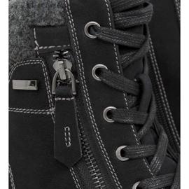 Timberki damskie czarne 4058 Black 1