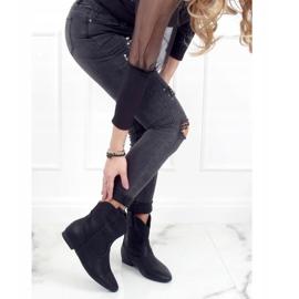 Saszki damskie licowe czarne NC1058 Black 3